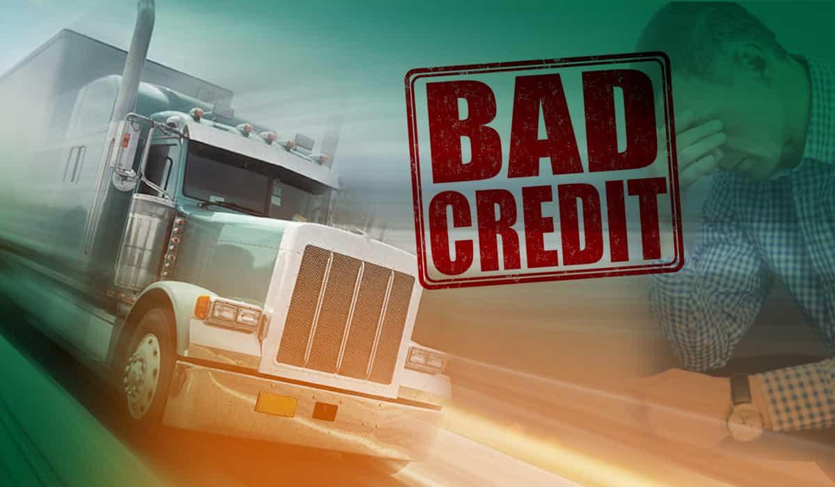 bad credit semi truck financing